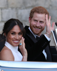 Prince Harry and Meghan Markle Might Skip Part of Princess Eugenie's Wedding