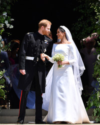 See the First Photos of Meghan Markle's Givenchy Wedding Dress