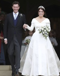 Princess Eugenie's Wedding Dress Is About to Go on Display—Right Next to Meghan Markle's