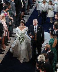 Prince Andrew Just Shared Photos from Princess Eugenie's Flower-Filled Wedding Reception