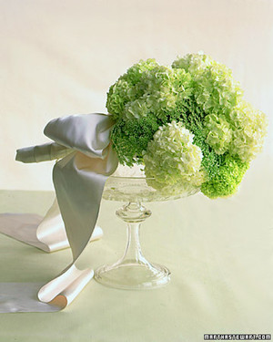 Green Wedding Flowers
