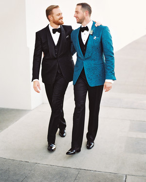 Brian and Chad's Modern Los Angeles Wedding