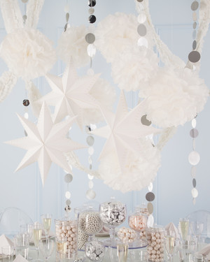 White Wedding Decorations and Favors