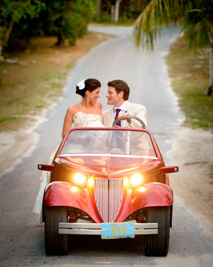 Erin and Jeffrey, Harbour Island, Bahamas