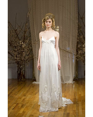 Elizabeth Fillmore, Fall 2008 Bridal Collection