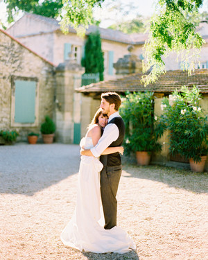 A Pastel Vintage Destination Wedding in France