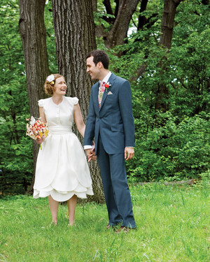 A Casual Nature-Inspired Garden Wedding in Brooklyn, New York