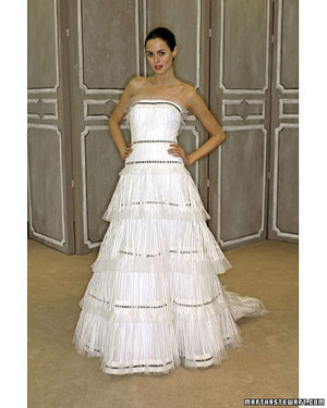 Carolina Herrera Spring 2009 Wedding Dresses Collection