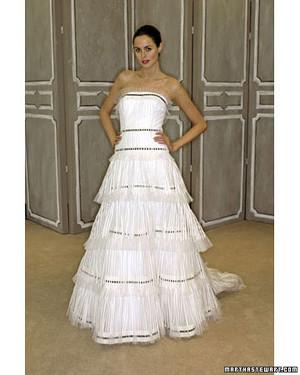 Carolina Herrera, Spring 2009 Bridal Collection