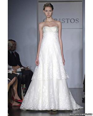Christos, Spring 2008 Bridal Collection