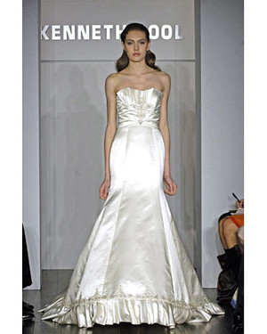 Kenneth Pool, Spring 2008 Bridal Collection