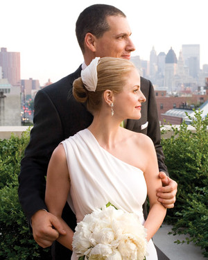 A Modern Formal Black-and-White Wedding in New York
