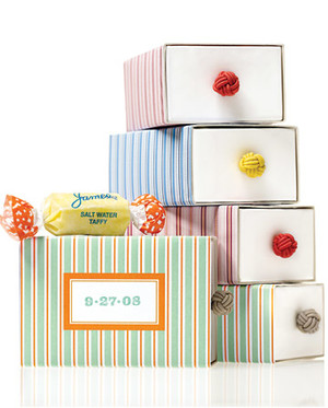 Favors: Think Outside the Box