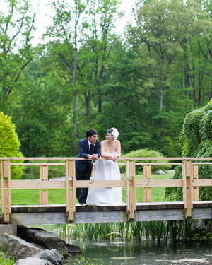 A Whimsical Pink Garden Wedding in Maryland