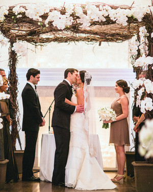 A Purple-and-White-Colored Formal Destination Wedding in Newport, Rhode Island