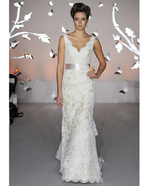 Modern Lace Wedding Dresses from Spring 2012 Bridal Fashion Week
