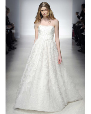 A-line Wedding Dresses from Spring 2012 Bridal Fashion Week