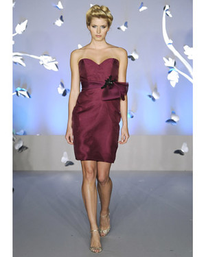 Lazaro, Spring 2012 Bridesmaid Collection