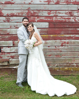 A DIY Rustic Wedding on a Farm in New York