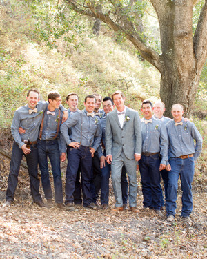 Stylish Groomsmen from Real Weddings