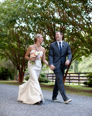 A Vintage Outdoor Wedding in North Carolina