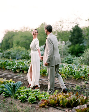 A Casual Outdoor Wedding on a Farm in Texas