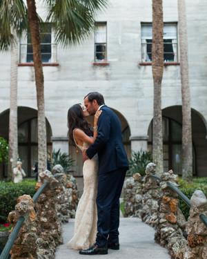 A Romantic Garden Destination Wedding in Florida