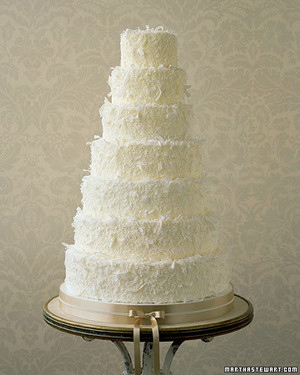 Coconut Wedding Cakes