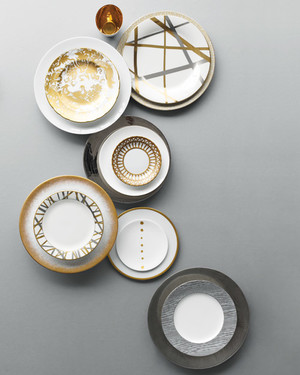 Take a Shine to These Metallic China Patterns