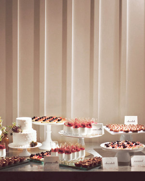 Dessert Table Ideas from Real Weddings