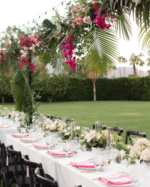 A Festive Wedding Weekend in Palm Springs