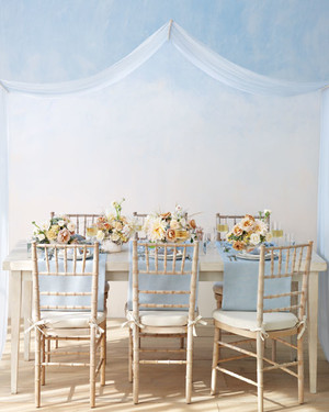 Pretty Pairing: A Powder Blue and Nude Color Palette