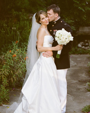 A Traditional White Wedding in California