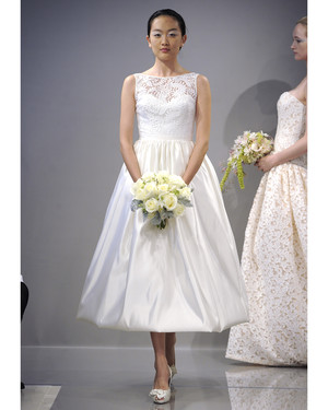 Tea-Length Wedding Dresses, Fall 2013