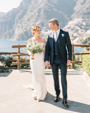 This Couple Returned to the Spot They Got Engaged—the Amalfi Coast—for Their Destination Wedding