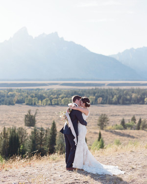 This Couple Incorporated Their Favorite Things Into Their Jackson Hole Ranch Wedding