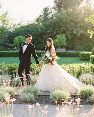 This Couple's Sierra Madre, California, Wedding Was All About Family