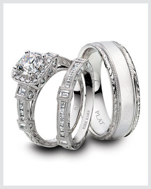 Platinum Engagement Ring And Wedding Band Ping Tips