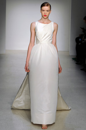 Sheath Wedding Dresses, Fall 2013