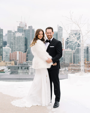 This Art Deco-Themed Wedding in Toronto Was the Definition of Modern