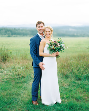 A Fun, Funky Wedding in Stowe, Vermont