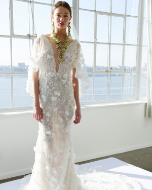 Marchesa Spring 2017 Wedding Dress Collection | Martha Stewart Weddings