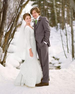 A Rustic Winter Destination Wedding in Colorado