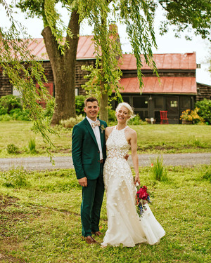 A Handmade—and All-Hands-on-Deck—Wedding in Upstate New York
