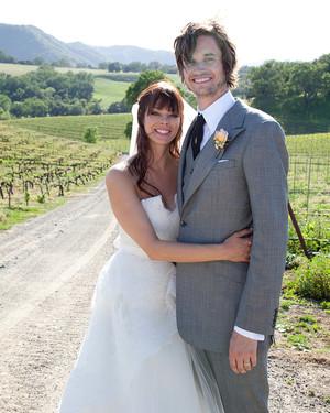 A Casual, Rustic Outdoor  Wedding on a Farm in California