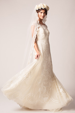 Marchesa Fall 2015 Bridal Show | Martha Stewart Weddings