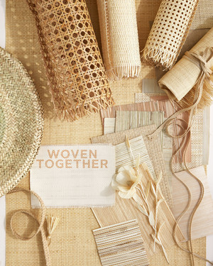 These Woven Wedding Ideas Are Uniquely Chic