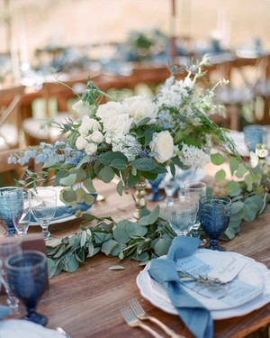 20 Blue Wedding Color Palettes We Love