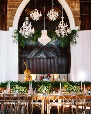 Our Favorite Ways to Decorate Your Wedding Venue with Chandeliers