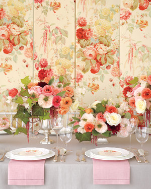 Floral Fabric-Inspired Wedding Ideas